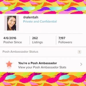 Other - 🛍Posh Ambassador!📬💌
